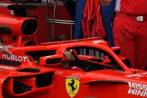 Le halo de la Ferrari SF-71H