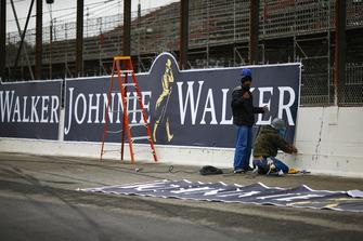 Applicazione di una pubblicità Johnnie Walker