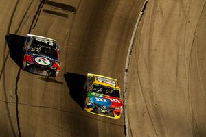 Kyle Weatherman, StarCom Racing, Chevrolet Camaro StarCom Fiber, Kyle Busch, Joe Gibbs Racing, Toyota Camry M&M's