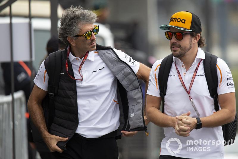 Fernando Alonso, McLaren ed Edoardo Bendinelli, Personal Trainer