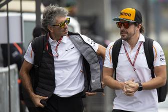 Fernando Alonso, McLaren and Edoardo Bendinelli, Personal Trainer