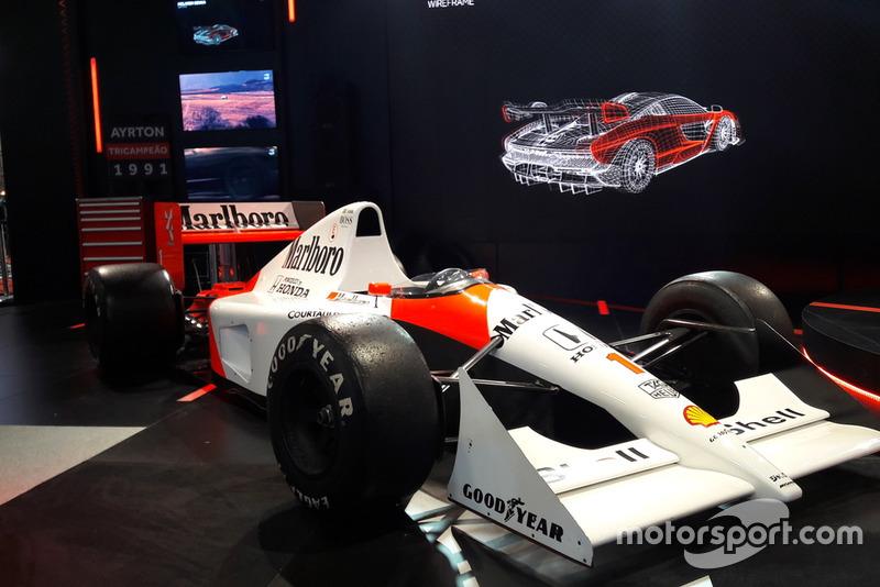 McLaren MP4/6 de Ayrton Senna - 1991