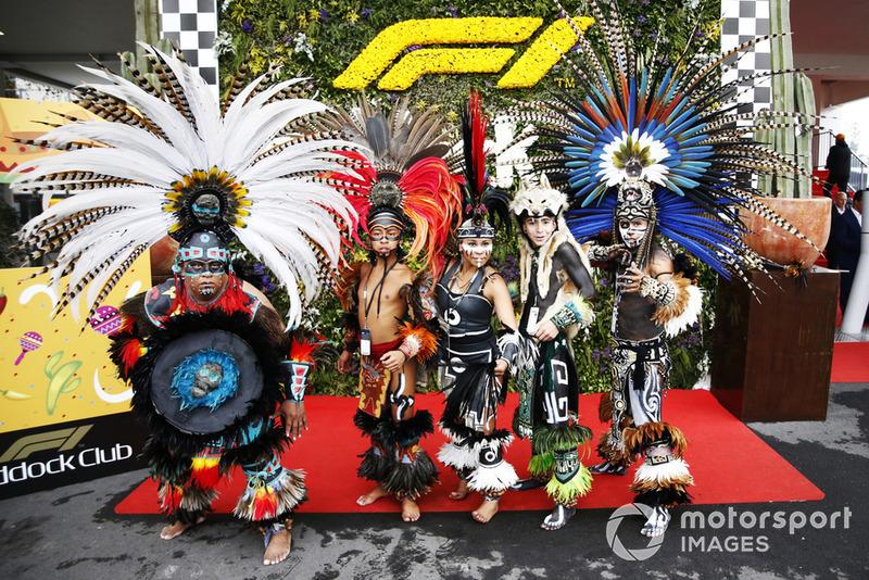 Атмосфера Гран При Мексики