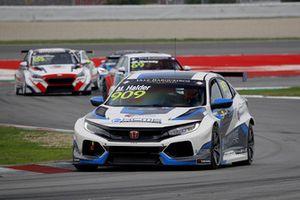 Mike Halder, Hell Energy Racing with KCMG Honda Civic Type R TCR