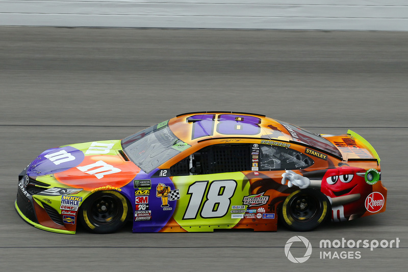 7. Kyle Busch, Joe Gibbs Racing, Toyota Camry M&M's Halloween