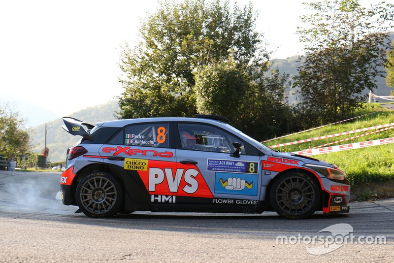 Pedro, Emanuele Baldaccini, Hyundai i20 WRC, Daytona Race
