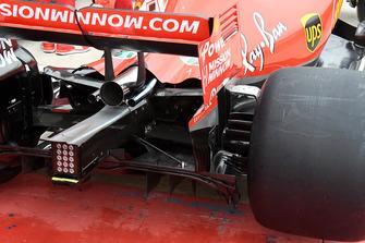 Ferrari SF71H parte trasera