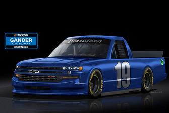2019 Chevrolet Silverado for NASCAR Gander Outdoors Series