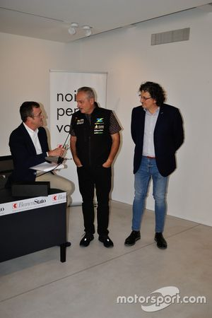 Roberto Gurian, Fabrizio Scolari e Franco Barin