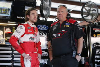 Ryan Blaney, Team Penske, Ford Fusion REV Jeremy Bullins