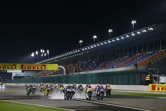 Start zum Supersport-Finale 2018 auf dem Losail International Circuit in Katar