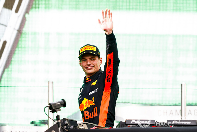 Max Verstappen, Red Bull Racing, ganador