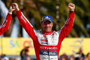 Winner Sébastien Loeb, Citroën World Rally Team Citroën C3 WRC