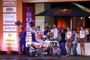 Podium: Red Bull KTM Factory Racing KTM: Laia Sanz