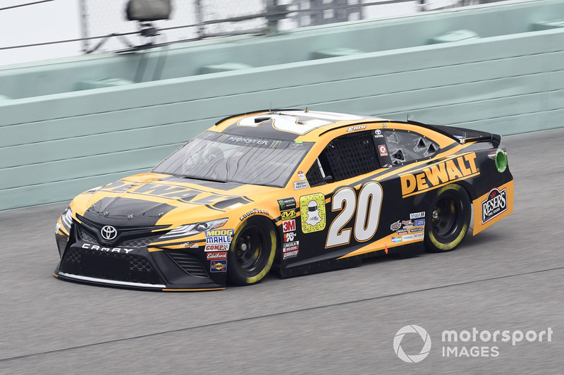 7. Erik Jones, Joe Gibbs Racing, Toyota Camry DeWalt