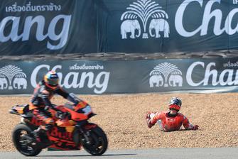 Jorge Lorenzo, Ducati Team, dopo l'incidente