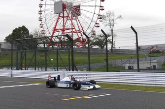 Kazuki Nakajima, Tyrrell 017 at Legends F1 30th Anniversary Lap Demonstration