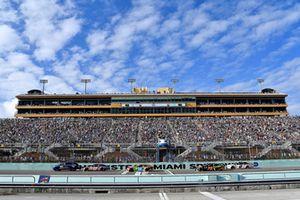Pace-Laps auf dem Homestead-Miami Speedway