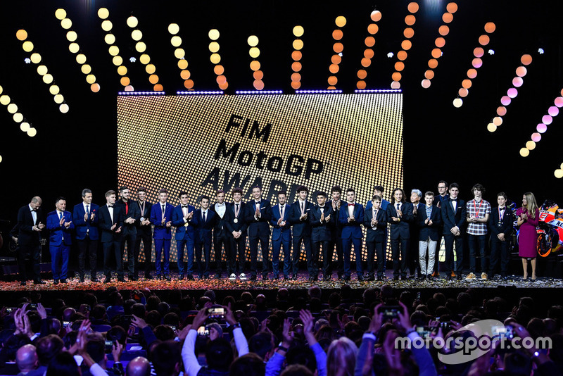 FIM Awards Ceremony 2018 - All winners together on stage