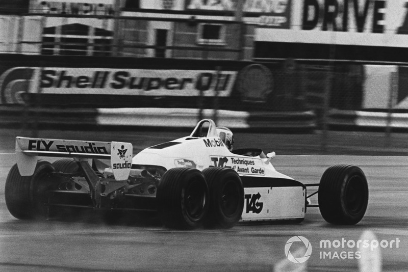 Keke Rosberg, 6 ruedas Williams FW08B