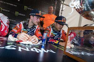 Jeffrey Herlings en Glenn Coldenhoff, Red Bull KTM Factory Racing