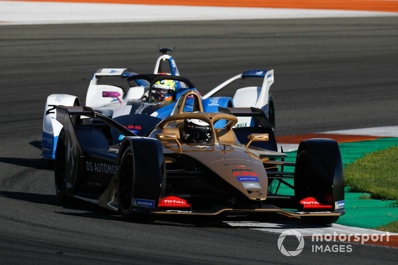 Andre Lotterer, DS TECHEETAH, DS E-Tense FE19, Alexander Sims, BMW I Andretti Motorsports, BMW iFE.18