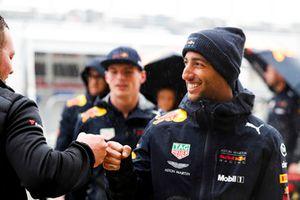 Max Verstappen, Red Bull Racing, oraz Daniel Ricciardo, Red Bull Racing