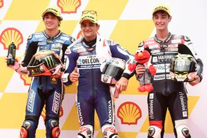 Marco Bezzecchi, Prustel GP, Jorge Martin, Del Conca Gresini Racing Moto3, Tony Arbolino, Marinelli Snipers Moto3
