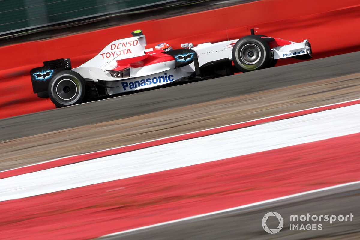 Toyota et Batman, GP de Grande-Bretagne 2008