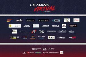 La lineup des Le Mans Virtual Series