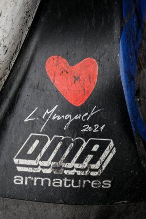 #65 Panis Racing Oreca 07 - Gibson LMP2 with Laurent Minguet signature