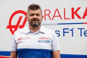 Marek Smrek, Haas F1 team, Garage Technician and Tyres