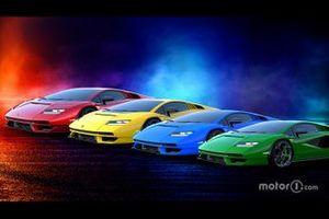 Colori della Lamborghini Countach