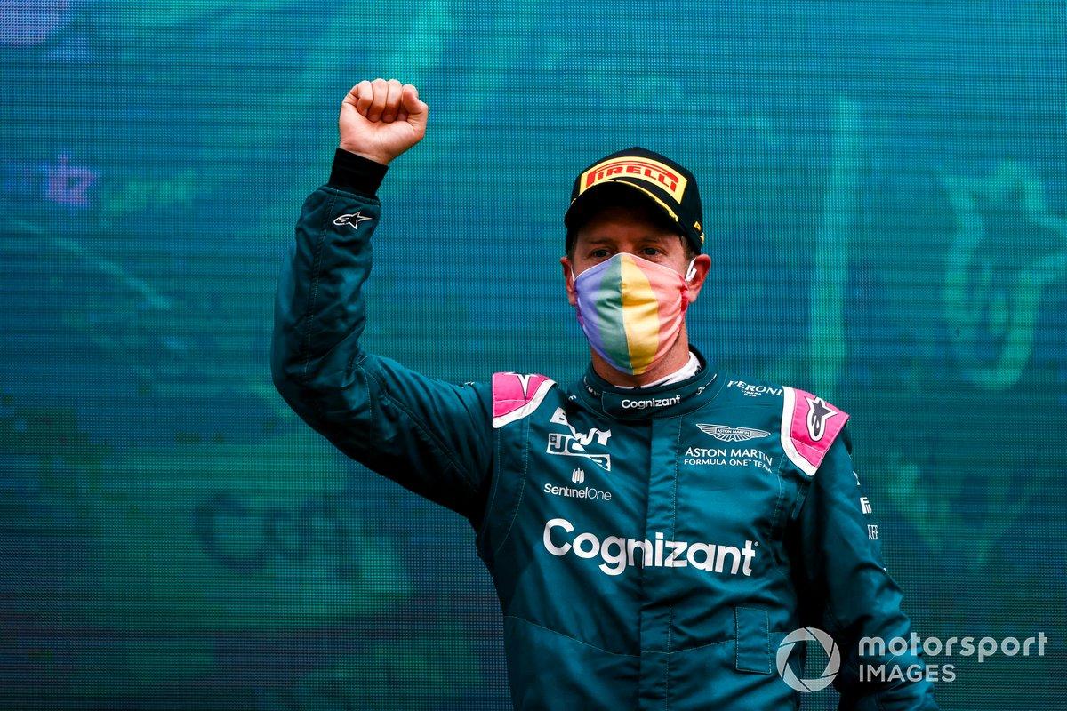 Sebastian Vettel, Aston Martin: 8 puan