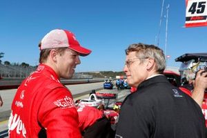 Oliver Askew, Rahal Letterman Lanigan Racing Honda and engineer Ricardo Nault