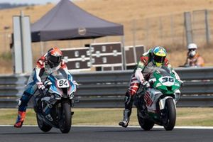Leandro Mercado, MIE Racing Honda Team, Jonas Folger, Bonovo MGM Racing
