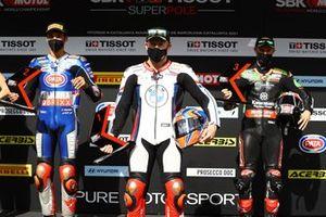 Toprak Razgatlioglu, PATA Yamaha WorldSBK Team, Tom Sykes, BMW Motorrad WorldSBK Team, Jonathan Rea, Kawasaki Racing Team WorldSBK