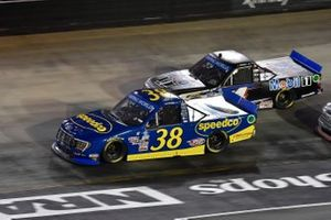 Todd Gilliland, Front Row Motorsports, Ford F-150 Speedco, Hailie Deegan, Team DGR, Ford F-150 Toter/Engine Ice