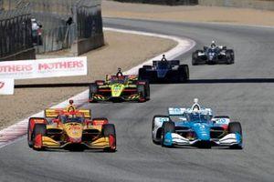 Ryan Hunter-Reay, Andretti Autosport Honda, Scott McLaughlin, Team Penske Chevrolet