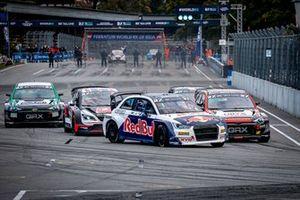 Johan Kristoffersson, KYB EKS JC Audi S1 en tête