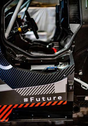 Detalle del Audi RS Q e-tron