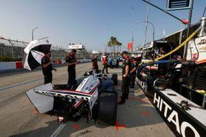 Will Power, Team Penske Chevrolet, et des membres de son équipe