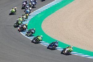 Renn-Action der Supersport-300-Klasse in Jerez