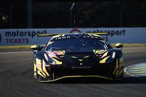 #60 Iron Lynx Ferrari 488 GTE EVO LMGTE Am of Claudio Schiavoni, Paolo Ruberti, Raffaele Giammaria