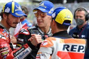 Francesco Bagnaia, Ducati Team, Fabio Quartararo, Yamaha Factory Racing, Marc Marquez, Repsol Honda Team