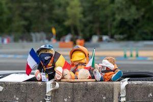 Maskottchen in Le Mans