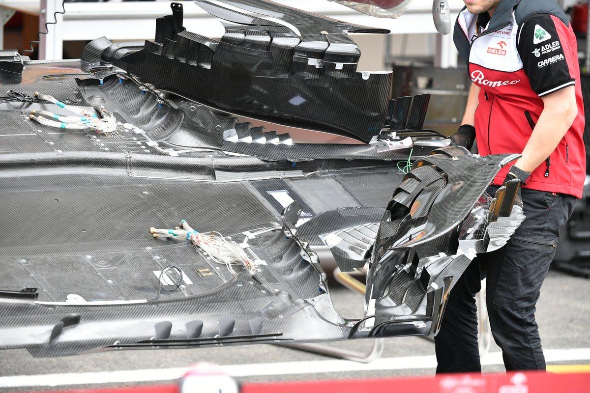 Alfa Romeo C41: Unterboden