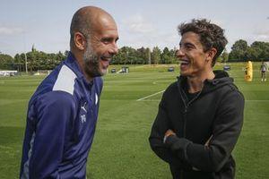 Marc Marquez, Repsol Honda Team, Manchester City manager Pep Guardiola