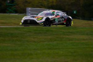 #28: Alegra Motorsports Mercedes-AMG GT3, GTD: Michael de Quesada, Daniel Morad