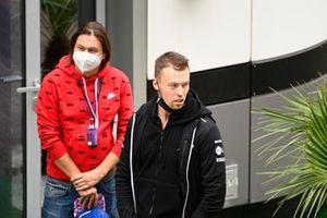 Daniil Kvyat, reserve coureur, Alpine F1